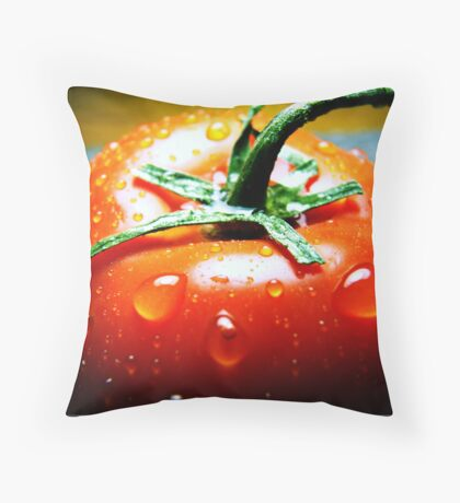 Juicy Tomato Throw Pillow