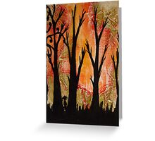 a new beginning Greeting Card
