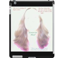 Transfigured. iPad Case/Skin