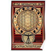 The Revolution of Consciousness   Enlightened Propaganda Poster Poster