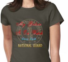 National Guard-My Godson Womens Fitted T-Shirt