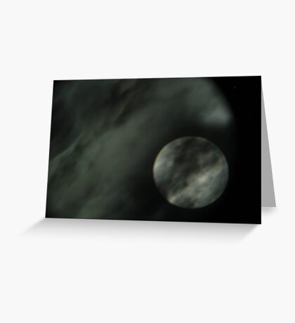 Mysterious Moon Greeting Card