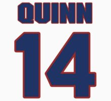 National Hockey player Dan Quinn jersey 14 by imsport