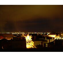 Newtown rooftop night Photographic Print