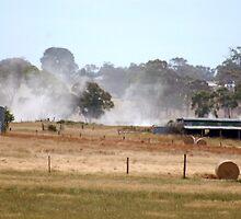 dust blowing  by lettie1957