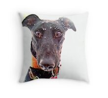 Snow Hope Throw Pillow