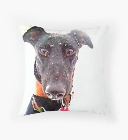 Snow Hope Throw Pillow