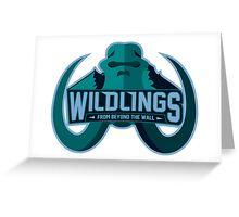 Team Wildlings - GoT Greeting Card