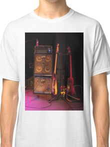 Guitars and Loud Speaker Classic T-Shirt