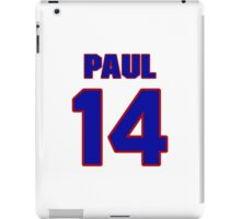 National Hockey player Butch Paul jersey 14 iPad Case/Skin