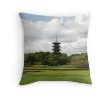 Soja Pagoda Throw Pillow