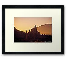 The Heat Of the Morning Framed Print