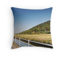 The Soja Trail Throw Pillow