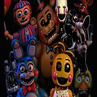 FNAF 2 animatronics by vanityphantasm