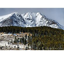 Winter In the Colorado Rockies Photographic Print