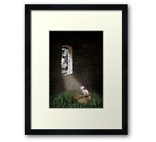 Waiting for the day Framed Print