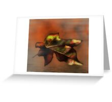 The Fallen One Greeting Card