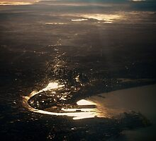 Dawn from Above by mugley