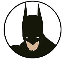 Simplistic Batman Photographic Print