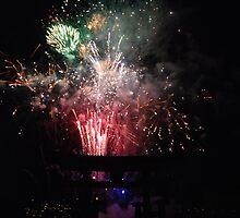 Miyajima Fireworks Festival 2 by Harlequitmix