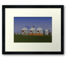 Medieval Camp Framed Print