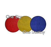 Sora Abstract - One Sky, One Destiny Photographic Print