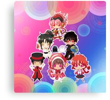 Group Clamp Canvas Print