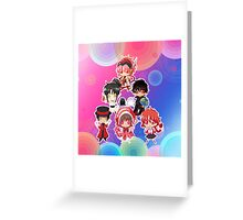 Group Clamp Greeting Card