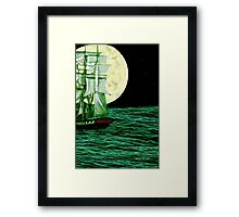 Moonlit Destiny Framed Print
