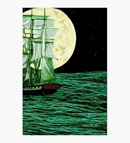 Moonlit Destiny Photographic Print