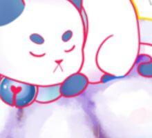 Blue PuppyCat Sticker Sticker