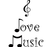 I Love Music by moonshinepdise