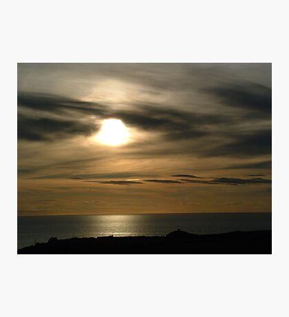 St Davids Sunset Photographic Print