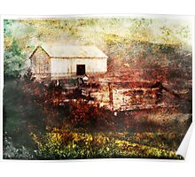 Old Family Barn Poster