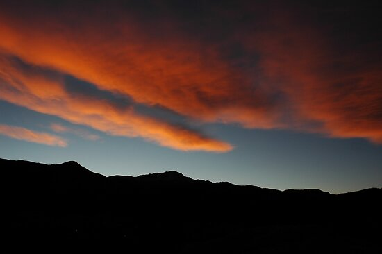 Fire Over The Peak by Holly Werner