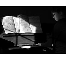 The Recital Photographic Print