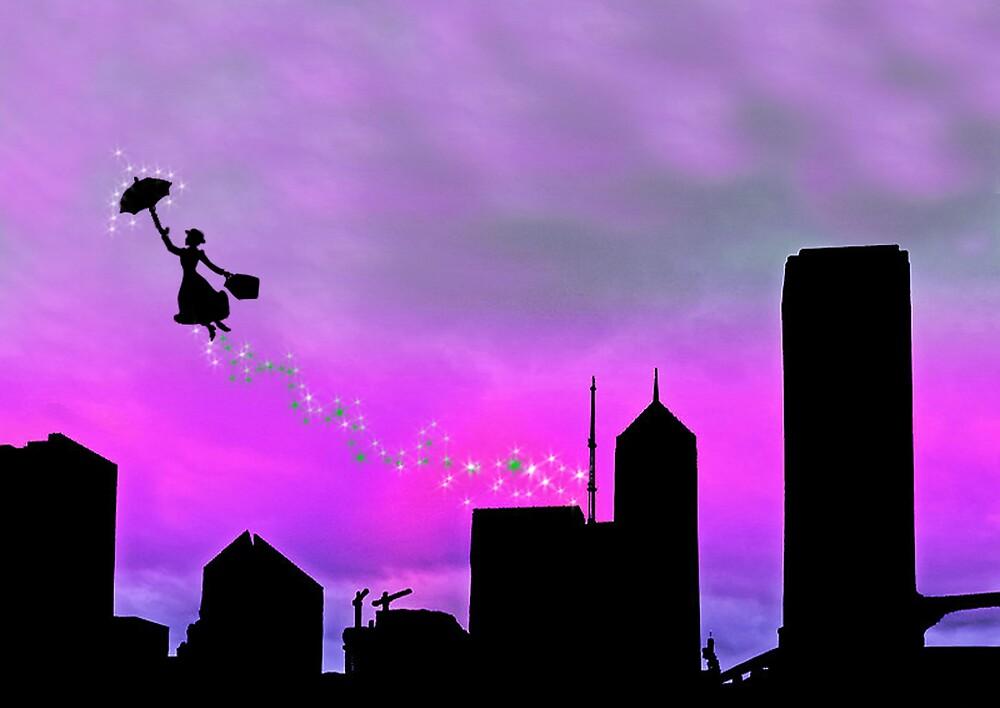 Mary Poppins is in Da' town by Daniela Reynoso Orozco