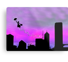 Mary Poppins is in Da' town Metal Print