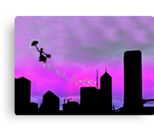 Mary Poppins is in Da' town Canvas Print