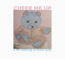 Cheer me up - I'm having a blue day Womens Fitted T-Shirt