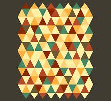 Triangle Pastel Colors / Autumn Color Scheme Unisex T-Shirt
