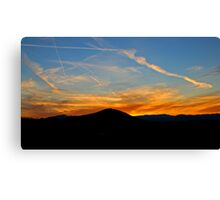 Writers in the Sky Canvas Print