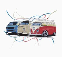 VW Bus Collection by Richard Yeomans