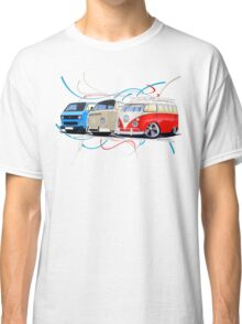 VW Bus Collection Classic T-Shirt