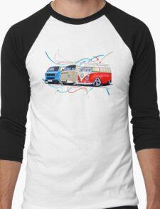 VW Bus Collection Men's Baseball ¾ T-Shirt