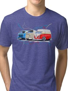 VW Bus Collection Tri-blend T-Shirt