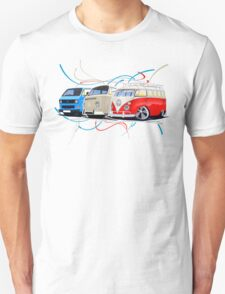 VW Bus Collection T-Shirt