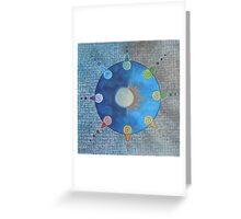 Sun-Moon Mandala Greeting Card