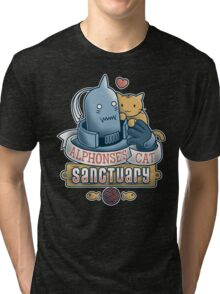 Alphonse's Cat Sanctuary Tri-blend T-Shirt