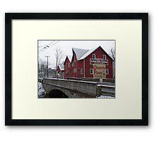 Kirby's Mill Framed Print